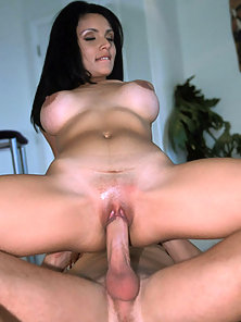 Big breasted latina girl gets a big dick in her vagina