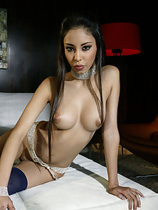 Alexis Love shows off her sexy body before sucking cock and getting fucked.