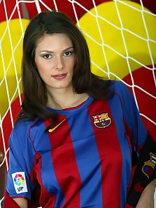 Sexy Busty Soccer Player