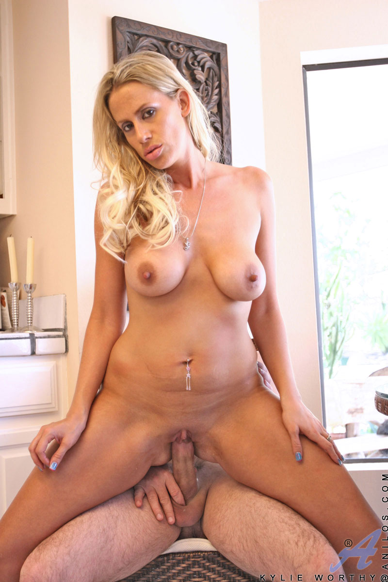 Busty anilos brenda james rides a dong on kitchen floor - 3 part 4