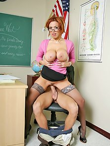 Big titted office girl getting pounded at work