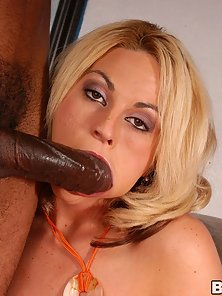 Busty Sindy Lange getting a massive black cock up her pussy
