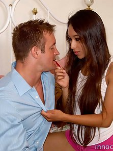 Cali Lee gets her tight pussy fingered and fucked by her prinicipal