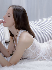 Two best friends share a great lover. The entire action is filled up with cute and naughty sex game