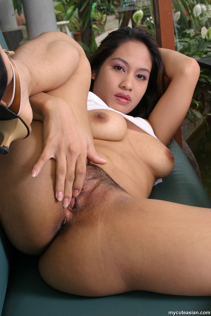 hairy asian dildo