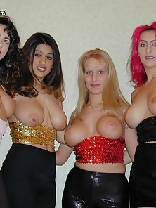 Five chicks with huge boobs need I say more