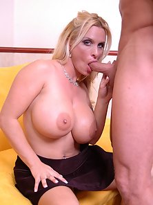 Monster milf tits Holly Halston getting fucked in every holes ass mouth pussy
