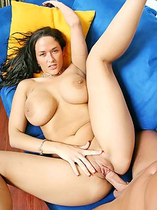 Big titted brunette Carmella Bing getting ripped in the pool