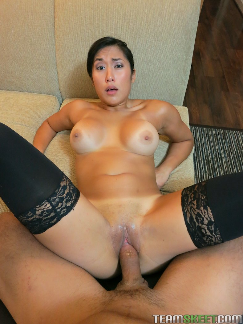 Tight asian gets fucked