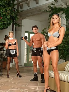 French Maid Threesome