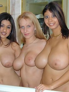 Angie with Ashley Juggs and her massive 36FFF tits
