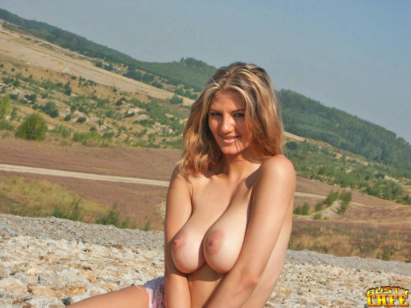 Girl big boobs taking off her bra are