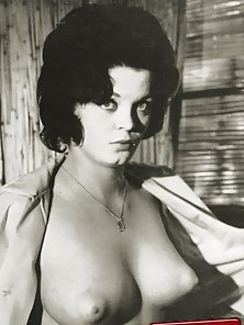 Several fifties ladies showing their puffy nipples naked