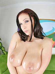 Big juicy round tits gets pounded hard by a black rock hard cock!!!