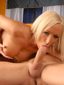 Blonde With Huge Hooters Fucking