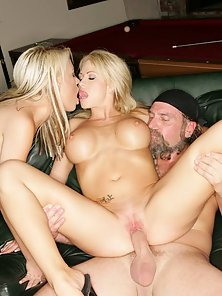 Brooke Haven in a wild and crazy threesome