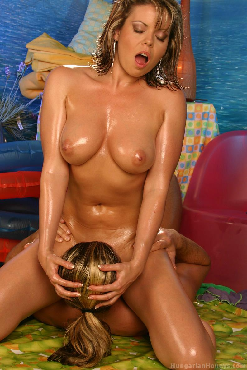 Blog orgy oil covered woman