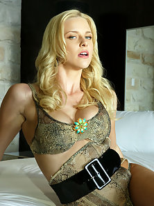 Hannah Harper in sexy lingerie gets a spanking before sucking cock and getting her pussy fucked.