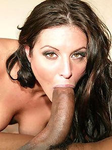 Super slut takes big black cock in her ass
