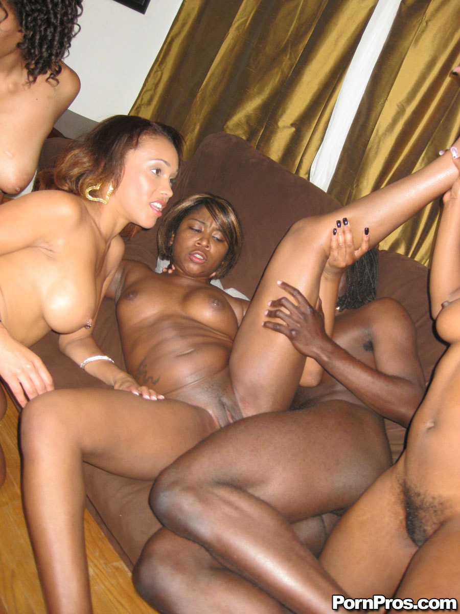 Naked juicy black bitches are