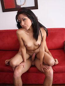 Adriana Vega strips off her panties and gets filled with cock