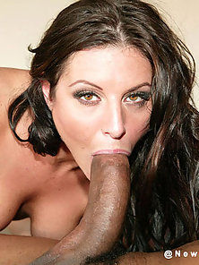 Sexy girl takes big black cock in her ass