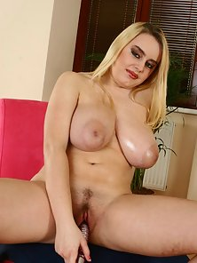 Pamela has the biggest naturally oiled tits you'll ever come to love
