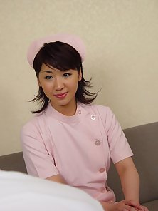 Hairy Japanese teen receives creampie from doctor