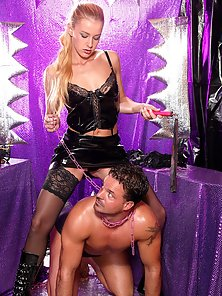 Stocking Wore Blonde Chick Gets Banged By Her Partner in Delight Mood
