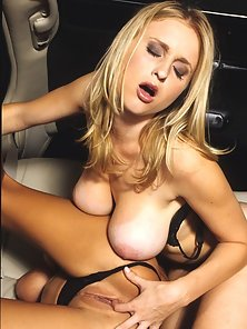 Limo backseat lesbo girlfriends