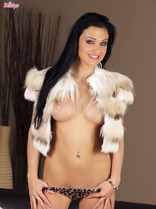 Aletta Ocean spreads her tight pussy wide open