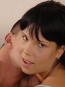Shaved Teens Fuck Date Ends In A Cum Shower