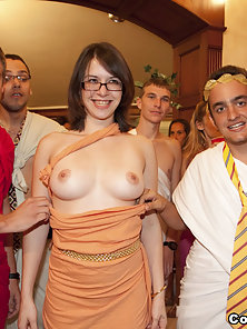 College orgies caught on film!