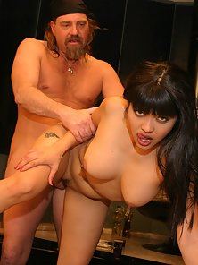 Long haired Asian minx getting the anal fuck of a lifetime