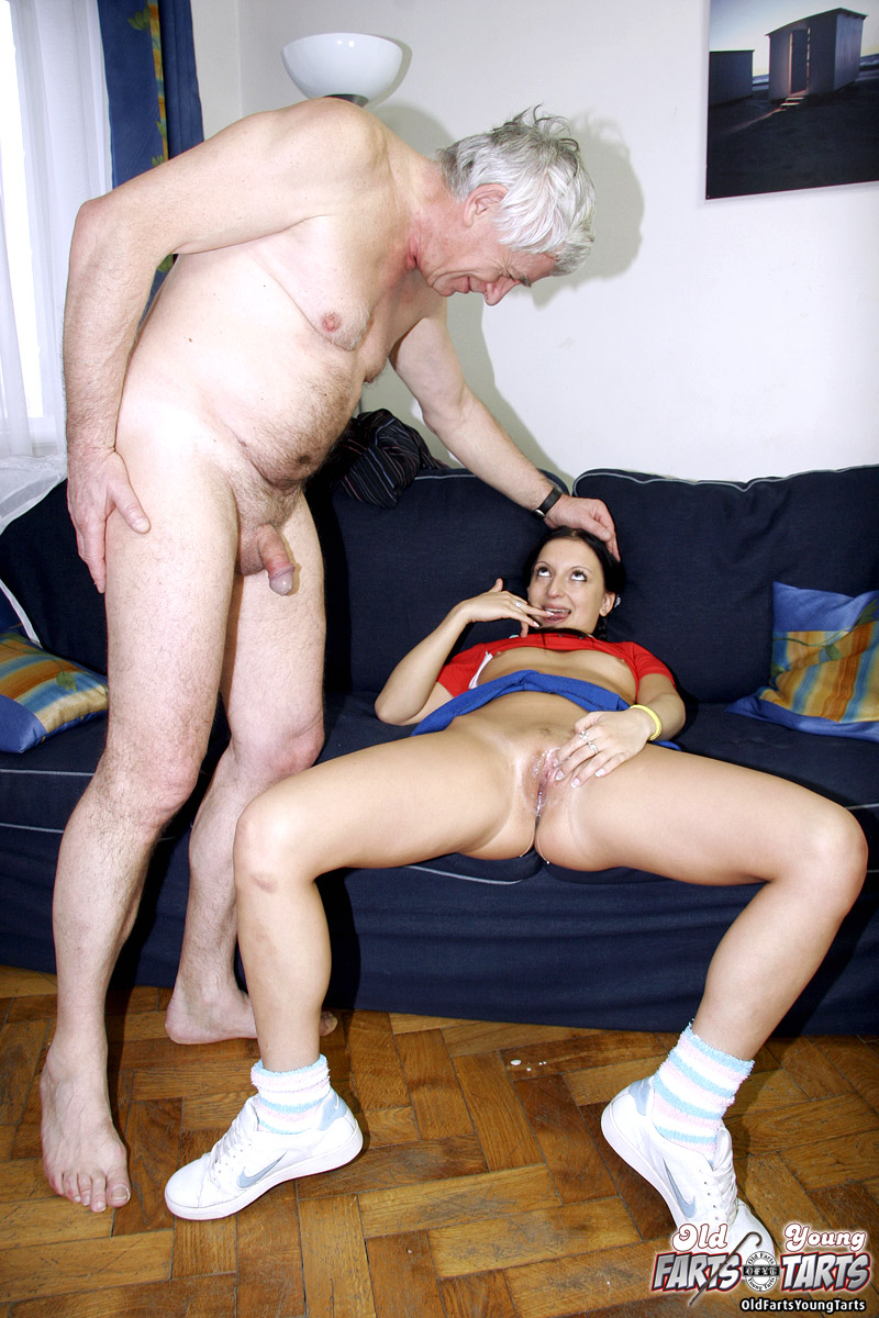 Horny Old Man Seduces His Teen Maid Into Sexual Adventure -5111