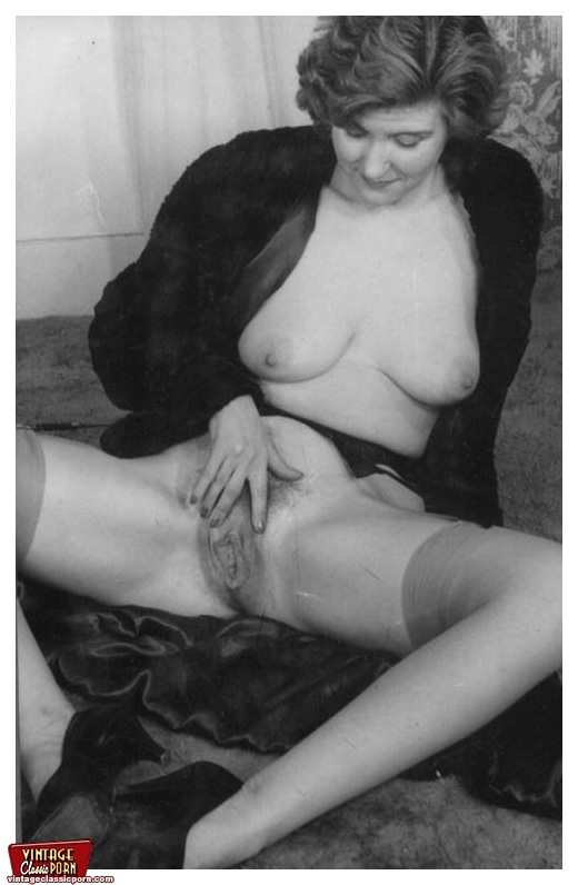 Apologise, but, black and white retro vintage hairy pussy