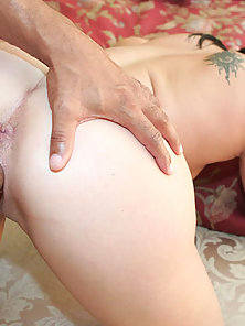 Brunette Teen Gets Pussy Stretched By Monster Black Cock
