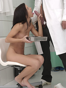 Angelina goes to the doctor
