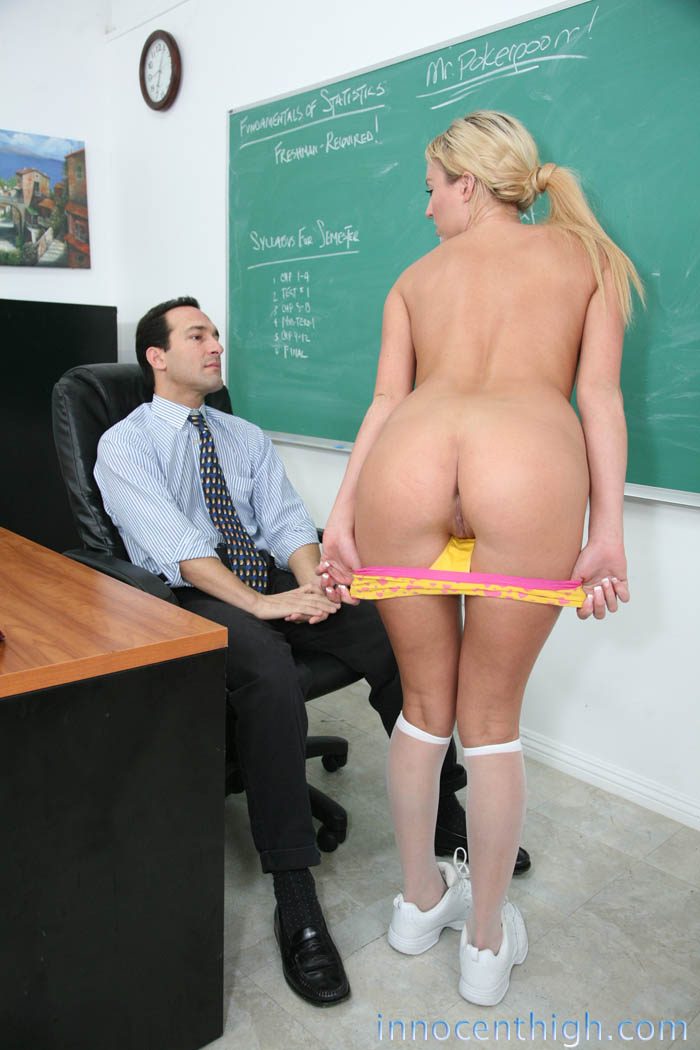 Teacher Fucks Student Blonde