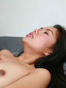 Assian Parade hottie fucking a plump cock