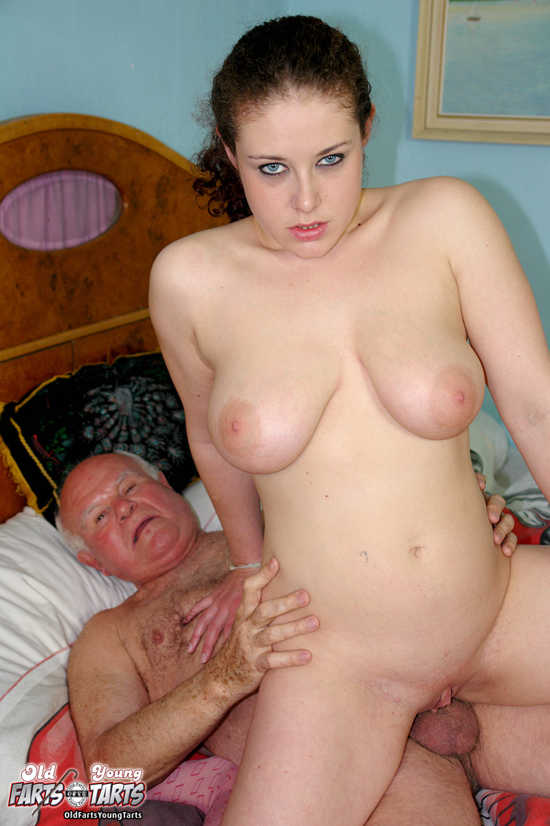 Thick Brunette Teen Girl Fucked Hard By A Horny Grandpa -1617