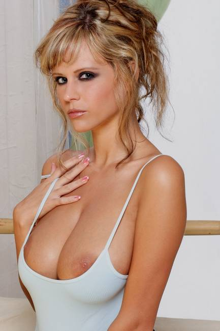 Raylene richards blue tank top