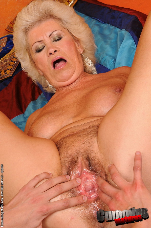 Horny And Hairy Mature Effie In A Lesbian Scene - Ass Point-2744