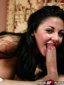 Audrey Bitoni is super sexy in this set of sucking, fucking and sweating.