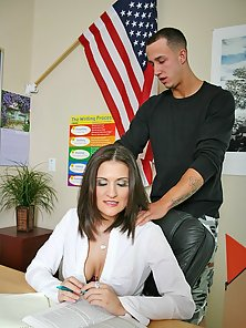 Busty Austin Fucked By Student 85
