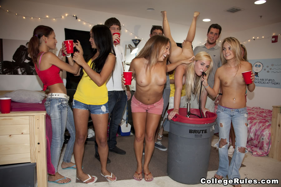 Want fuck nude college party