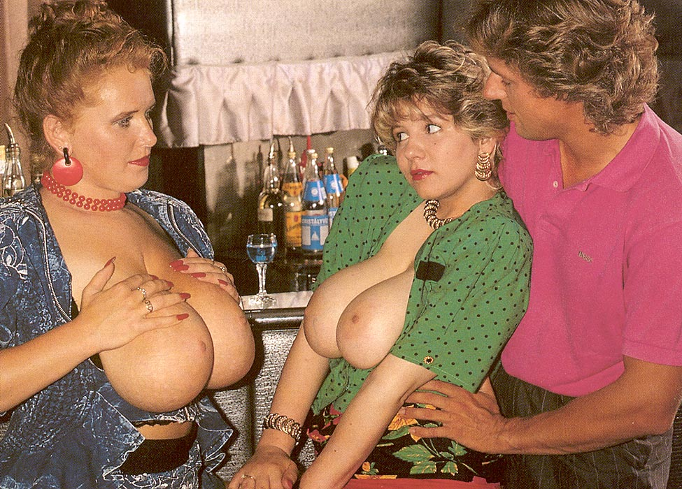 Two big busty mature moms getting fucked @ Ass Point