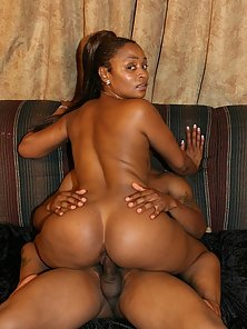 Big Booty Ebony Kara Kane Takes Ass Pounding after Striptease
