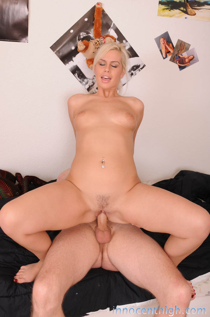 Blonde gets ass fucked hard