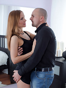Seductive milf Sabrina Moor gets her juicy cunt fucked hard from behind